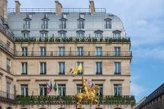 Statue de Jeanne d'Arc -  58451-Paris