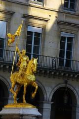 Statue de Jeanne d'Arc -  Paris - France / França