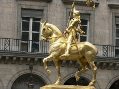 Statue de Jeanne d'Arc -  Paris 1