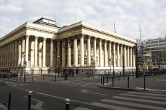 Bourse - Français:   Ancienne Bourse à Paris