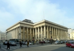 Bourse - English: Bourse place - Paris