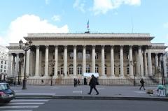Bourse - Français:   Palais Brongniart, Paris.