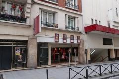 Cinéma Rex - Panneau Histoire de Paris du Grand Rex, rue Poissonnière.