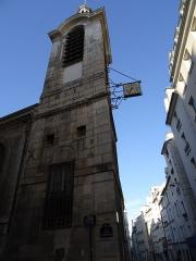 Eglise Notre-Dame-de-Bonne-Nouvelle -  Clocher de l'église Notre-Dame-de-Bonne-Nouvelle, Paris