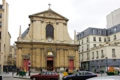 Eglise Notre-Dame-des-Victoires -  La basilique Notre Dame des Victoires dans le 2ième arrondissement de Paris