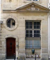 Fontaine - English: Colbert fountain - Paris