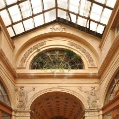 Galerie Vivienne, anciennement appelée galerie Marchoux - English: Galerie Vivienne located at 2nd arrondissement of Paris in France.