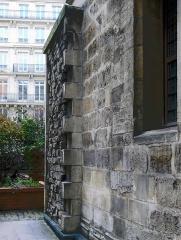 Ancien hôtel des ducs de Bourgogne : Tour de Jean Sans Peur - Tour Jean Sans Peur (vestige enceinte Philippe-Auguste) - Paris II