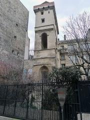 Ancien hôtel des ducs de Bourgogne : Tour de Jean Sans Peur - Tour Jean Sans Peur - Paris II