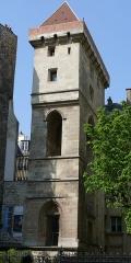 Ancien hôtel des ducs de Bourgogne : Tour de Jean Sans Peur - Paris - Tour Jean-sans-Peur