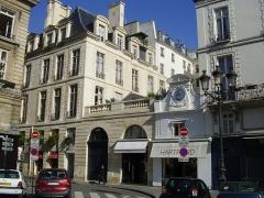 Ancien hôtel Rambouillet de la Sablière, ou hôtel Clairambault - English: Hôtel Clairambault - 2 and 4 rue Vide-Gousset, Paris, 2nd arrdt