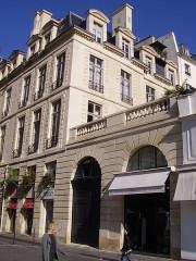 Ancien hôtel Rambouillet de la Sablière, ou hôtel Clairambault - English: Hôtel Clairambault - side rue Vide-Gousset