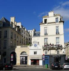 Ancien hôtel Rambouillet de la Sablière, ou hôtel Clairambault - English: Vide-Gousset street - Paris