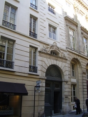 Ancien hôtel - English: Hôtel Le Tellier (5 rue du Mail, Paris, 2nd arrondissement).