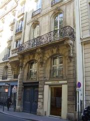 Immeuble du 18e siècle, dit hôtel de La Feuillade - English: hôtel de La Feuillade. 4 rue La Feuillade, Paris 2nd arrondissement