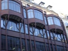 Immeuble, ancien siège du quotidien Le Parisien Libéré -  124 Rue Reaumur; Industrial and commercial building - Details