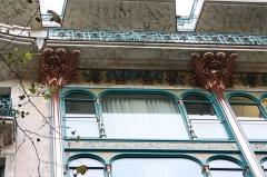 Anciens magasins de la Samaritaine de Luxe - Deutsch: Ehemaliges Kaufhaus La Samaritaine de Luxe, 27, boulevard des Capucines im 2. Arrondissement von Paris, 1914-1917 von Frantz Jourdain und Georges Bourneuf errichtet