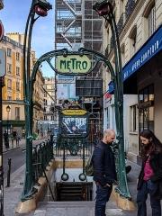 Métropolitain, station Réaumur-Sébastopol -  Paris