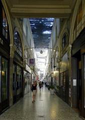 Passage Choiseul et passage Sainte-Anne - English: Passage Choiseul - Paris