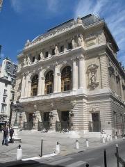 Théâtre de l'Opéra-Comique, dit salle Favart - English: Theater of the l'Opéra-Comique (sometimes named Salle Favart), Paris 2nd arr.