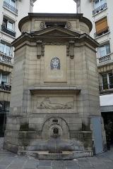 Fontaine publique des Haudriettes -  Fountain @ Le Marais @ Paris