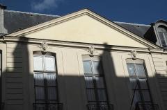 Hôtel de Gourgues - Deutsch: Hôtel de Gourgues in der Rue de Turenne n° 54 im 3. Arrondissement in Paris (Île-de-France/Frankreich), Maskarons an der Fassade