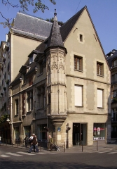 Hôtel Hérouet - English: House of Jean Herouet, 54 rue des Francs-Bourgeois, Le Marais, Paris, France