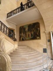 Hôtel Le Pelletier de Saint-Fargeau -  Hôtel Le Peletier de Saint-Fargeau - Escalier d'honneur