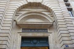 Ancien hôtel de Saint-Aignan (ou hôtel d'Avaux, de Rochechouart, d'Asnières), actuellement musée d'art et d'histoire du Judaïsme - Deutsch: Hôtel de Saint-Aignan, 71, rue du Temple im 3. Arrondissement von Paris, Eingang
