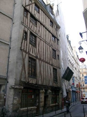Immeuble -  One of the oldest houses in Paris, rue Volta 3