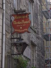 Maison dite de Nicolas Flamel -  Auberge Nicholas Flamel in Paris