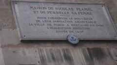 Maison dite de Nicolas Flamel - English: Auberge Nicolas Flamel
