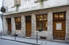 Maison dite de Nicolas Flamel -  Auberge de Nicolas Flamel @ Paris