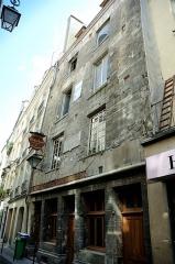 Maison dite de Nicolas Flamel -  House of Nicholas Flamel, one of the oldest houses in Paris, France