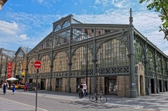 Marché du Temple -  Carreau du Temple, Paris.