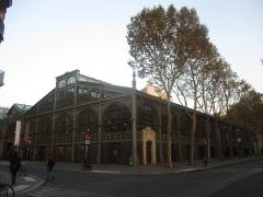 Marché du Temple - Français:   Carreau du Temple, Paris IIIe.
