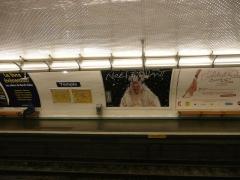 Métropolitain, station Temple -  Station Temple du métro de Paris.