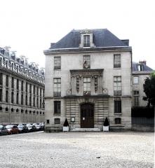 Pavillon de l'Arsenal, actuellement bibliothèque de l'Arsenal - English: Bibliothèque de l'Arsenal - Paris