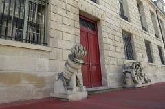 Pavillon de l'Arsenal, actuellement bibliothèque de l'Arsenal -  Arsenal @ Paris