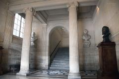 Pavillon de l'Arsenal, actuellement bibliothèque de l'Arsenal -  Bibliothèque de l'Arsenal
