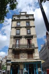 """Ancienne boulangerie, actuel restaurant """"Chez Julien"""" -  Chez Julien, 62 rue de l'Hôtel-de-Ville, 75004 Paris, France."""
