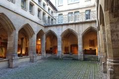 Temple des Billettes (ancien couvent des Carmes-Billettes) -  Cloître des Billettes @ Marais @ Paris