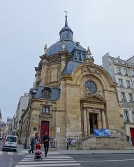 Temple du Marais ou temple Sainte-Marie (ancienne chapelle du couvent des filles de la Visitation dite église de la Visitation) -  Paris