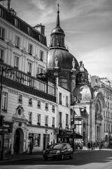 Temple du Marais ou temple Sainte-Marie (ancienne chapelle du couvent des filles de la Visitation dite église de la Visitation) -  Temple du Marais, Rue Saint Antoine, Paris.