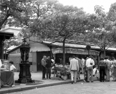Fontaine Wallace (deux) -  flower and bird market