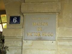 Hôtel Arnaud ou de Rohan-Guéménée - English: Maison de Victor Hugo - Place des Vosges, Paris
