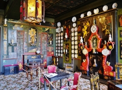 Hôtel Arnaud ou de Rohan-Guéménée - Deutsch: Chinesischer Salon im Haus Victor Hugos, Paris, Region Île-de-France, Frankreich