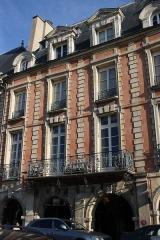 Hôtel d'Asfeldt - Deutsch: Hôtel d'Asfeldt in Paris, 16 place des Vosges