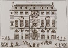 Hôtel de Beauvais, actuellement Cour Administrative d'Appel de Paris - French graphic artist, engraver and architect