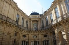 Hôtel de Beauvais, actuellement Cour Administrative d'Appel de Paris -  Hôtel de Beauvais, Paris.